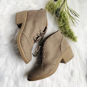 Merona • Lace Up Booties